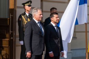 Володимир Зеленський зустрівся з Президентом Фінляндії