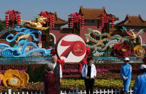 «Золотий тиждень» у Китаї  починається  з дня народження країни