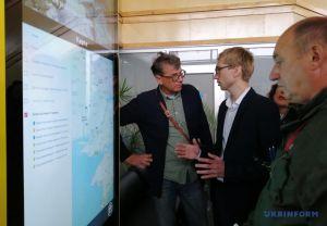У Херсоні в аеропорту відкрили сенсорний інформаційний центр