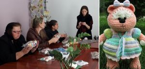 Борщівські жінки вчилися японської техніки «амігурумі»