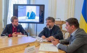 Во время организационного собрания Постоянной делегации Верховной Рады Украины...