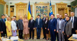 Президент вручив посвідчення членам ЦВК