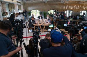 El presidente de Ucrania estableció un récord mundial