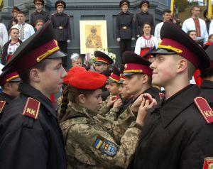 Кадети Києва побажали країні злагоди та благополуччя