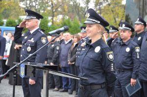 В Днепропетровской области будущие полицейские принесли присягу