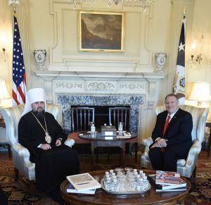 Глава ПЦУ розповів у США про утиски церкви на окупованому Донбасі і в Криму