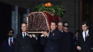 Перепоховання  Франсіско Франко  відбулося тихо й непублічно