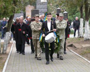 Меморіальні заходи почалися біля пам'ятника визволителям