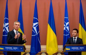 Nato beabsichtigt, Beziehungen zur Ukraine zu erneuern
