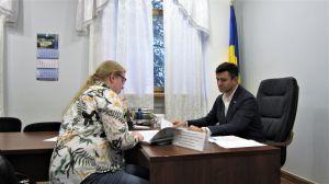Николай Тищенко в приемной Верховной Рады Украины