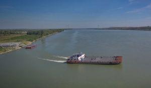 Запуск поромної переправи через Дунай знову відтерміновано