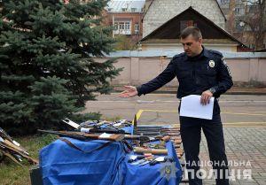 На Житомирщині здавали рушниці і набої