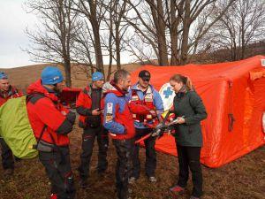 Польські рятувальники навчали українських колег