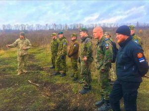 Сапери поділились бойовим досвідом  з естонцями та фінами