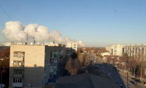 Очередной инцидент  на военном складе в Балаклее