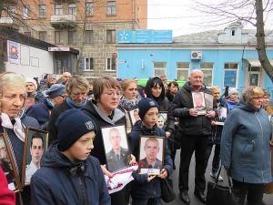У Хмельницькому молились за загиблих бійців