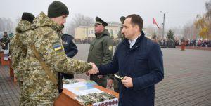 Черкасская область: Пополнение отправляется защищать рубежи Родины