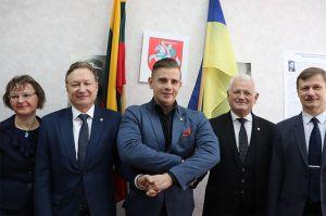 Центр дослідження історії Литви відкрили в Україні