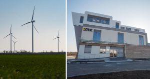 В Запорожской области ветер осветит и обогреет жилье
