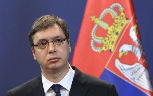 Президенту Сербии рекомендовали снизить нагрузки