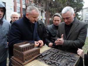 История Тернополя в бронзе