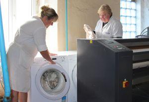Самому старому Житомирскому госпиталю — новый стиральный комплекс