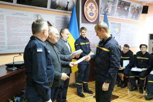 У Дніпрі рятувальникам вручили сертифікати від НАТО