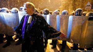 Пастора лютеранской церкви, приютившей протестующих,  наградили Крестом за заслуги