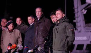 Los buques de guerra ucranianos regresaron de Crimea