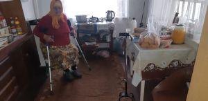 Долгожданные костыли —  в подарок жительнице прифронтового Чермалыка