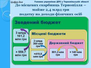 Местные бюджеты Тернопольской области становятся богаче