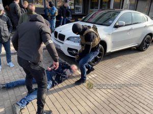 В Ужгороді затримали рекетира з Росії