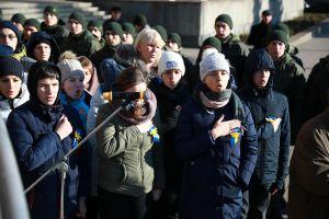 В Запорожье звучали стихи и песни в память о погибших Героев