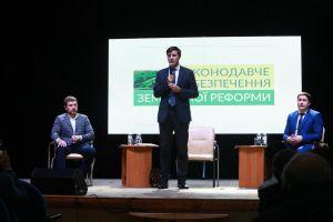 Запорожских аграриев интересовало, когда победят коррупцию