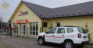 У селі Брюховичі все водночас: амбулаторія, автомобіль і житло