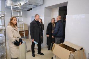 В Северске дети в третьей четверти уже будут учиться в отремонтированной школе