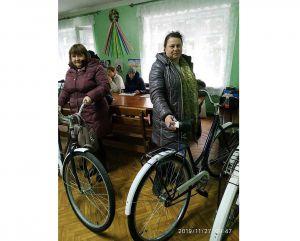 Соцпрацівники Кремінського територіального центру отримали нові велосипеди