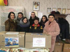 Волонтеры Канева отвезут угощения и маскировочные сетки