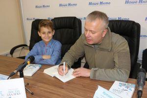 Учасник бойових дій Борис Кутовий презентував свою книжку «Листи здалеку»