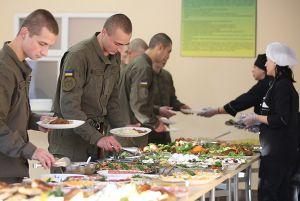 Гвардійців запросили до шведського столу