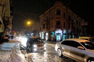 Зима у Чернівці, як завжди, прийшла раптово