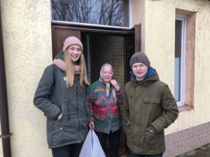В Каменце-Подольском студенты провели день добрых дел