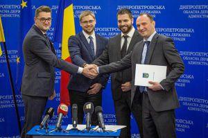 В Днепре открыли первое Почетное консульство Румынии