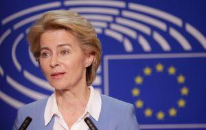 Глава Еврокомиссии Урсула фон драл Ляйен заверила в поддержке