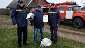 Волонтера-пожежника із села Люхча нагородили грамотою