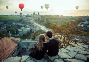 Подарок от городского головы Каменец-Подольского — полет на воздушном шаре