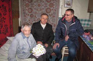 Про ветерана Степана Цибова дбають сусіди