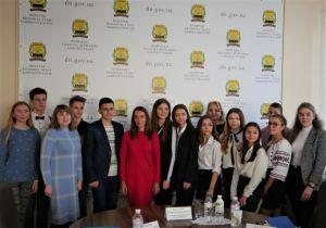 У Краматорську зустрілися з лідерами учнівського самоврядування