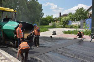 В Чернигове обновили покрытие шести улиц