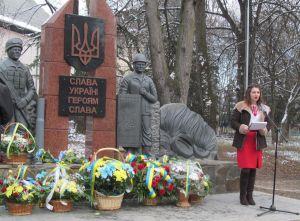 У Сваляві монумент присвятили борцям за незалежність